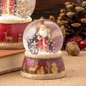 Mini Traditional Father Christmas Snow Globe