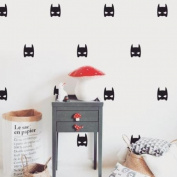 V & C Designs Ltd (TM) 24 x Batman Mask Superhero Wall Sticker Decals