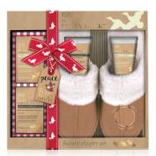Baylis & Harding Slipper Set, Fuzzy Duck Festive, Mulberry and Mistletoe