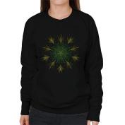 Cloud City 7 Floral Mandala Women's Sweatshirt