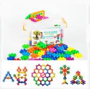 Plum Building Blocks Puzzle Puzzle Desktop DIY Children Toys Puzzle Desktop Toys Plastic Puzzle Blocks