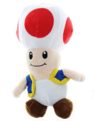 Nintendo Super Mario Bros 18cm Toad Plush