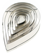 CanViUKK Stainless Steel Water Drops Cookie Cutter Cake Mould Tool Cake Decorating Tool Kitchen Tool
