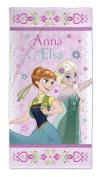 Towel bath towel Frozen Anna and Elsa the snow queen 75 x 150 cm