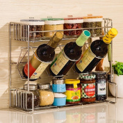 SHELVES Stainless Steel Kitchen Shelves, 3-layer Dressing Rack, Can Be Hanging Wall