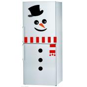 Christmas Snowman Fridge Sticker Fridge Window Novelty Funny Xmas Decoration UK