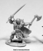Reaper Miniatures REM77406 25mm Scale Boris Mingla Evil Warlord - Bobby Jackson