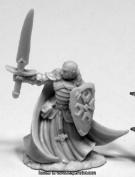 Reaper Miniatures REM77423 25mm Scale Sir Malcolm Templar Lightbringer - Bobby Jackson