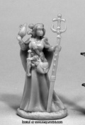 Reaper Miniatures REM77439 25mm Scale Vonsalay Half Orc Wizard - Bobby Jackson
