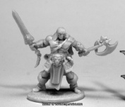 Reaper Miniatures REM77469 25mm Scale Brand Oathblood Barbarian - Bobby Jackson