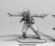Reaper Miniatures REM80074 25mm Scale Jake Ryan Hero Explorer Bobby Jackson - Bones & Chronoscope
