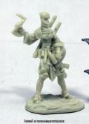 Reaper Miniatures REM89036 25mm Scale Reiko Iconic Ninja Bobby Jackson - Pathfinder Bones