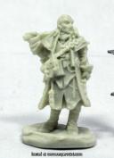 Reaper Miniatures REM89037 25mm Scale Quinn Iconic Investigator Bobby Jackson - Pathfinder Bones