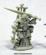Reaper Miniatures REM89038 25mm Scale Oloch Iconic Warpriest Bobby Jackson - Pathfinder Bones