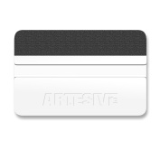 Artesive White Squeegee - Hard Spatula for adhesive coating application
