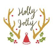 Holy Night Christmas Vinyl Sticker, Phone, Laptop, Window Decorative Sticker