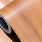 GFEI Wallpaper, wall stickers furniture wood paper wardrobe PVC self-adhesive wallpaper / refurbished imitation wood door stickers thickening (60cm*3m),I