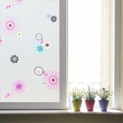 GFEI The window window stickers stickers stickers / matte translucent opaque toilet paper / bathroom glass window film shading anti Sai (45CM wide *2M),H