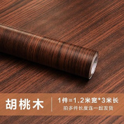 GFEI Wallpaper wallpaper from the solid wood thickened PVC / self-adhesive paste paper furniture renovation waterproof adhesive colour equipment film stickers,