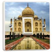 Taj Mahal India 3D Vinyl Skin Light Switch Cover Skin Sticker Decal Decor Mural by Inspired Walls®