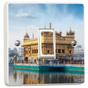 Golden Temple Amritsar India 3D Vinyl Skin Light Switch Cover Skin Sticker Decal by Inspired Walls®