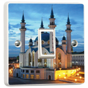 Qol Sharif Mosque Russia 3D Vinyl Skin Light Switch Cover Skin Sticker Decal by Inspired Walls®