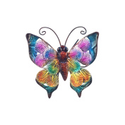 Art Deco Home - Wall Deco metallic Butterfly 14 cm - 13045SG