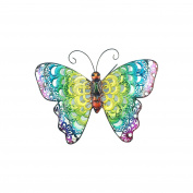 Art Deco Home - Wall Deco metallic Butterfly 22 cm - 13054SG