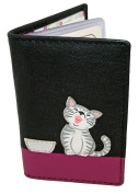 Mala Leather Small ID/Card Holder Style Ziggy Cat 62999 Colour Various New