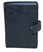 Mala Leather Small Bank/Credit card Holder Style Rimini 62261 Col Various