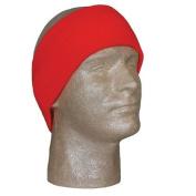 Fox Outdoor 72-288 Acrylic Headband, Blaze Orange,