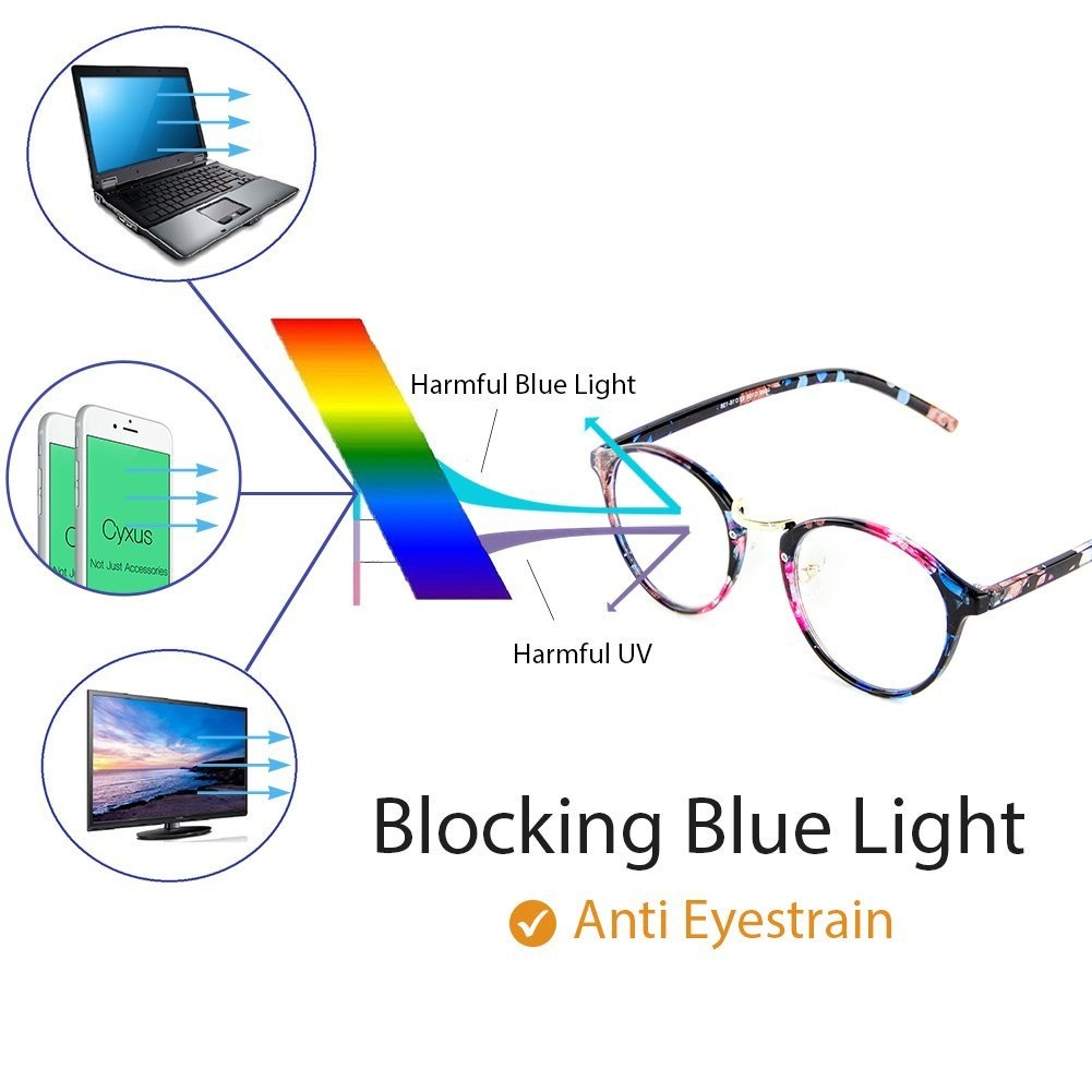 90feab81f2 Cyxus Blue Light Blocking Glasses