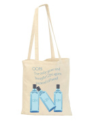 OOPS! GIN instead of bread again! Cream shopping reusable bag - present gift funny