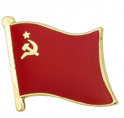 USSR Flag Enamel Pin Badge
