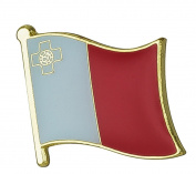 Malta Flag Enamel Pin Badge