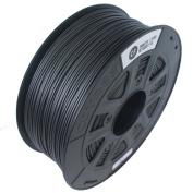 CCTREE 3D Printer Carbon Fibre Filament 1.75MM For Creality CR-10S 1kg Spool (2.2lbs), Black