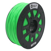 CCTREE 3D Printer ABS Filament 1.75MM for Creality CR-10S 3D Printer,1kg Spool (2.2lbs) Fluorecent Green