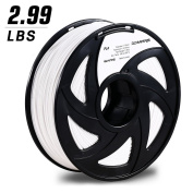 3D Printing Filament, 3DMARS 1.75mm PLA 3D Printer Filament, 1.4kg Spool,Dimensional Accuracy +/- 0.05mm,White