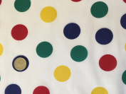 X LARGE (40mm SPOTS) BBC CHILDREN IN NEED Spots cotton fancy dress outfit Dress Bunting Fabric
