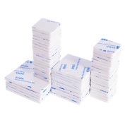 BBTO 70 Pieces 3 Sizes Double Sided Adhesive Foam Pad White Adhesive Stickers, Square