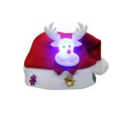 Christmas Hat, HUHU833 Adult LED Christmas Hat Xmas Gifts Cap