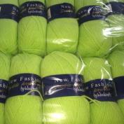5 x 100g Woolcraft Dk Double Knitting Wool , Yarn