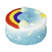 VENMO Kawaii Cute Rainbow Cake Cream Scented Squishies Slow Rising Jumbo Stress Relief Squeeze Toys For Kids