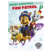 Paw Patrol Sound Christmas Card