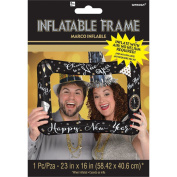 Amscan International 110346-01 New Year's Selfie Frame Foil Balloon