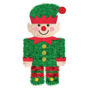 Amscan International 241913 Elf Mini Tinsel