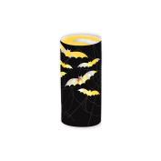 8 x Vampire Bat Cut Out Tea Light Holder Candle Wrap Halloween Party Decoration