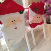 Christmas Santa Hat Dinner Chair Covers By ChelseaAE