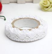 yipinco7285 DIY Tape Adhesive Hollow Lace Decorative Scrapbook Masking Tape Sticky Craft