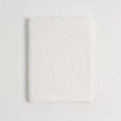 Coin Home 6682143 Puro Zero Twist Jacquard Thermae towel, 100% Cotton, White, 150 x 90 x 0.5 cm, Cream